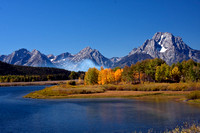 Oxbow Bend-fire and fall